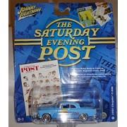 Johnny Lightning Saturday Evening Post 1955 Chrysler C-300 Diecast w/Card