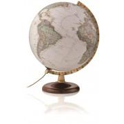 National Geographic Globus Gold Executive Antikstil Leuchtglobus politsch 30c...