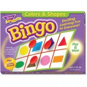 Trend Colors and Shapes Learners Bingo Game - Theme/Subject: Learning - Skill Learning: Color Matching, Shape