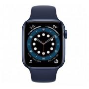 Apple Watch Series 6 GPS 40mm Blue Aluminum Case with Sport Band Deep Navy Europa