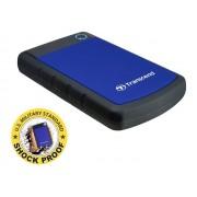 """Transcend StoreJet 25H3B - Vaste schijf - 2 TB - extern (draagbaar) - 2.5"""" - USB 3.0"""