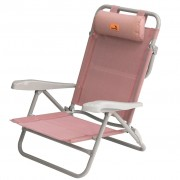 Easy Camp Плажен стол Breaker, розов, 50x65x77 см, 420036