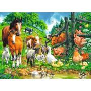 Puzzle Ravensburger - Animale, 100 piese (10689)