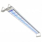 vidaXL Lampă acvariu cu LED, 120-130 cm, aluminiu, IP67