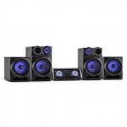 Malone Mega Sound System Audio 720W DVD Bluetooth HDMI AV USB FM AUX (AV2-Mega Party)