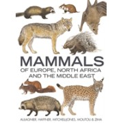 Mammals of Europe, North Africa and the Middle East (Aulagnier S)(Cartonat) (9781472960993)