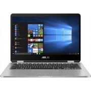 ASUS VivoBook Flip TP401NA-EC044T Grijs Hybride (2-in-1) 35,6 cm (14'') 1920 x 1080 Pixels Touchscreen 1,10 GHz Intel® Pentium® N4200