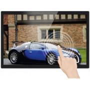 "Braun Digital fotoram 139.7 cm 55 "" Braun Germany 55"" Frame 10-Point-Touch 1920 x 1080 pix 16 GB Svart"