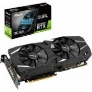 Placa video ASUS GeForce RTX 2060 Dual OC 6GB GDDR6 192 bit Resigilat