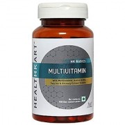 HealthKart Multivitamin With Ginseng Extract Taurine And Multiminerals 90 Veg Tablets
