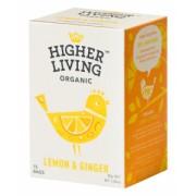 Ceai organic Lamaie si Ghimbir Higher Living