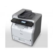 Ricoh Multifuncion ricoh laser monocromo sp3610sf fax a4/ 30ppm/ 512mb/ usb/ red/ adf 35 hojas/ duplex todas las funciones/ compatible