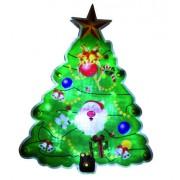 LED-es ablakdísz, karácsonyfa