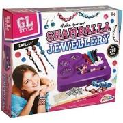 Grafix Gl Style Make Your Own Shamballa Bead Bracelets Childrens Jewellery Craft Kit