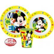Mickey egér micro étkészlet