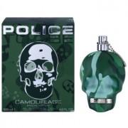 Police To Be Camouflage Eau de Toilette para homens 125 ml