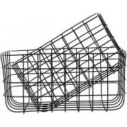 Koszyk Simply M 2 szt. czarne
