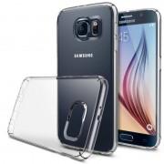 Husa Protectie Spate Ringke Slim Crystal Transparent plus folie protectie pentru Samsung Galaxy S6