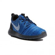 Nike Men's Roshe One Print Blue Running Shoes - 10 UK/India (45 EU)(11 US)(655206-401)