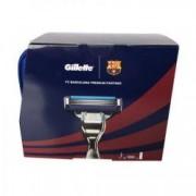 Set cadou Gillette Mach3 Turbo FC Barcelona