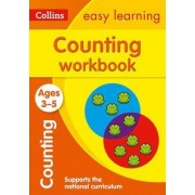 Counting Workbook Ages 3-5: New Edition by Collins Easy Learning