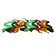 Bilipala The Small Rubber Snake, Anaconda Snake Toy, Rainforest Snakes, 10 Counting