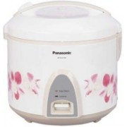 Panasonic SR-KA22A (R) Electric Rice Cooker(2.2 L, White)