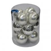 Novogodišnja kugla staklena 12kom 1803358