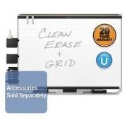 Prestige 2 Magnetic Total Erase Whiteboard, 36 X 24, Black Frame