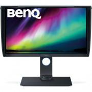 "BenQ Sw271 Monitor Pc 27"" Con Paraluce 4k Ultra Hd 350 Cd/m² 2hdmi Usb Colore Gr"
