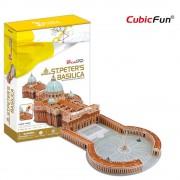 Cubicfun Basilica Sf Petru Vatican Puzzle 3D 144 de piese