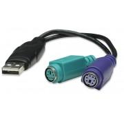 Adattatore USB a doppio PS/2