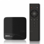 M8S PRO L smart android 7.1 TV box amlogic S912 octa-core 4K reproductor de TV inteligente con control remoto por voz - 3GB + 32GB (enchufe de EE. UU.)