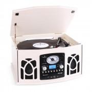 NR-620 impianto stereo con giradischi Legno Crema