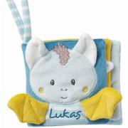 Carticica din plus pentru bebelusi - Liliac haios
