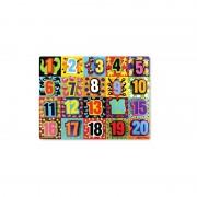 Puzzle Numere de la 1 la 20