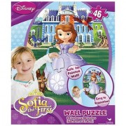 Disney Princess Sofia the First 46 Piece Repositionable Wall Puzzle - Kids Room