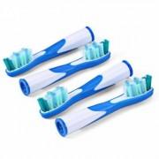 James Zhou 4-pack Oral-B Sonic kompatibla och utbytbara tandborsthuvuden