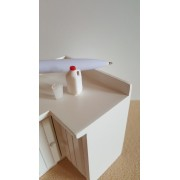 Lapte - set pet si pahar - miniaturi papusi