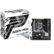 MB ASRock B250M PRO4, LGA 1151, micro ATX, 4x DDR4, Intel B250, S3 6x, VGA, DVI-D, HDMI, 36mj