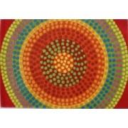 Vlněný koberec DESIGN Happy Dots d-11, 170x240 cm