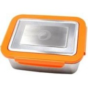ECOtanka RVS lunchbox Oranje
