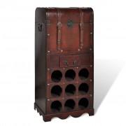 vidaXL Garrafeira para 9 garrafas de vinho