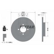 TEXTAR Discos De Freno BMW 92026400 34111154747,34116752434