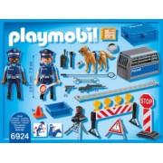 PlayMobil 4Ani+ Blocaj Rutier al Politiei