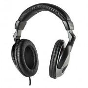 Meliconi Hp50 Cuffia Stereo Ergonomiche Con Filo Lunghezza 5 M Colore Grigio/ Ne