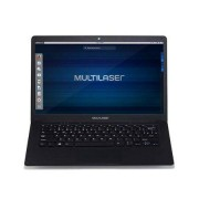Multilaser Notebook Legacy Intel Tela de 14.1'' Full HD Linux RAM 4 GB Preto Multilaser - PC210 PC210