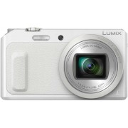 "Aparat Foto Digital Panasonic DMC-TZ57EP-W, 16 MP, 1/2.3"" CMOS, Filmare Full HD, Zoom Optic 20x, WiFi (Alb)"
