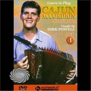 Video Delta Instructional-Cajun Accordion 1 - DVD