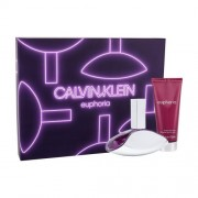 Calvin Klein Euphoria подаръчен комплект EDP 100ml + 100ml лосион за тяло за жени